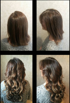 Dreamcatchers Hair Extensions Before After Web