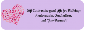gift certificate for birthday anniversary graduation promotion valentines day