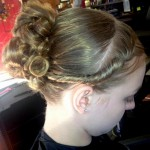 up-dos and braides for proms weddings brides